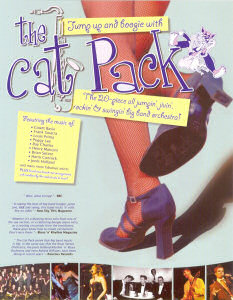 The Cat Pack 'Legs' poster